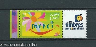 France - Personnalisées - 2001 Yt 3433 - Logo Tp  - Timbre Neuf** Luxe