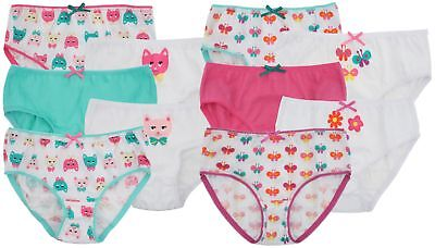 Anucci 5 Pack Girls Cute Cotton Briefs Knickers