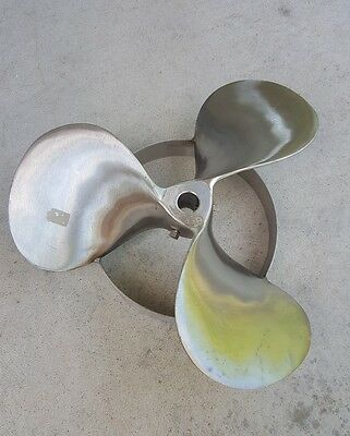 "15.1"" Stainless Steel  Mixing Propeller Sae 316 Agitator Mixer Lh 3 Blade"