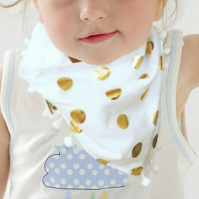 Newborn Toddler Cotton Baby Bibs Boy Girl Saliva Towel Kids Bib Feeding