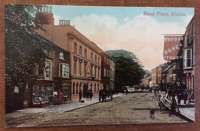 Mallow Co Cork Ireland - Bank Place c1910