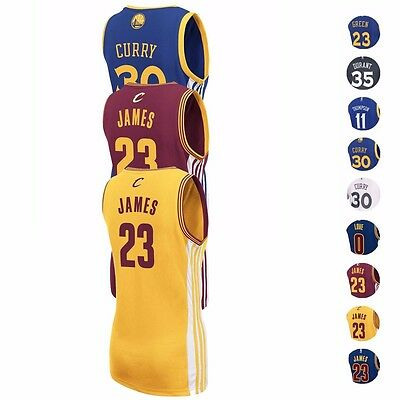 NBA Adidas Golden State Warriors & Cleveland Cavaliers Replica Jersey Women's