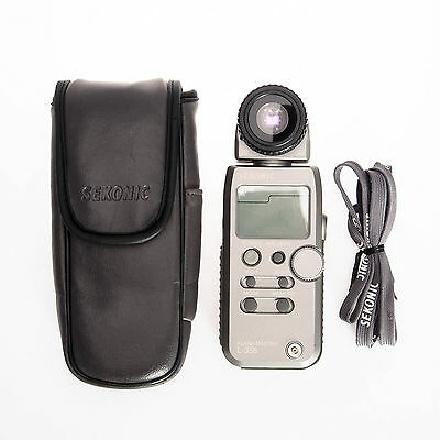 Sekonic L-358 Flash Meter Handheld Light Meter - Reflective Attachment Only