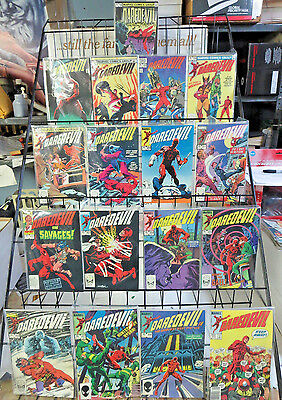 DAREDEVIL #192-196 198-222 224-226 234 236 239-240 Marvel 37 Comics VF/+ 1983-87