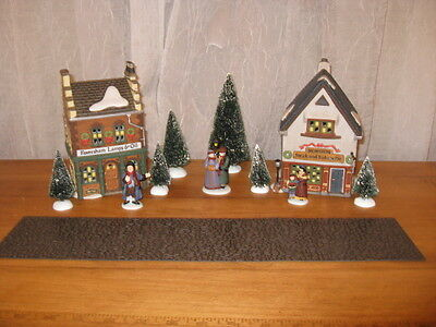 "Dept 56 Dickens Village ""Start A Tradition"" Set Of 13"
