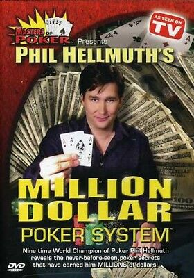 Masters of Poker: Phil Hellmuth's Million Dollar Poker System DVD Region 1
