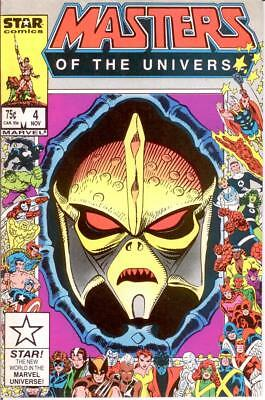Masters Of The Universe (1986 Marvel) 4 Vf-Nm