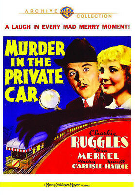 Murder in the Private Car [New DVD] Manufactured On Demand, Full Frame, NTSC F