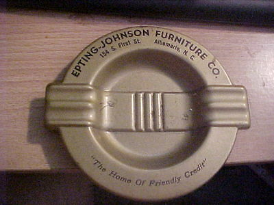 Albermarle Nc Ash Tray Epting Johnson Furniture Co 154 S First St Metal