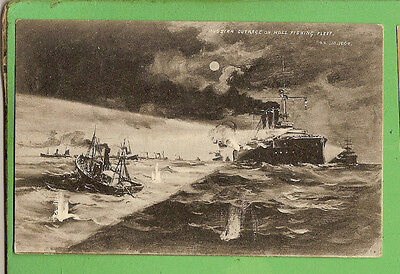 #N. Shipping  Postcard -  Russian Outrage On Hull Trawlers, 1904