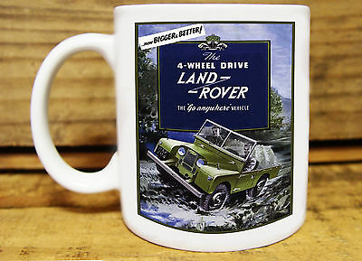 300ml COFFEE MUG, LAND ROVER - ......NOW BIGGER AND BETTER!