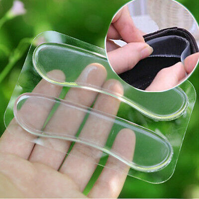 Silicone Shoe Insert Pad Insole Heel Liner Gel High Heel Cushion Foot Care Set