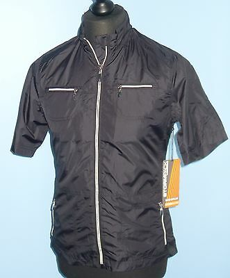 Aur Stormpack Womens S/s Wind Jacket Water Repellent Windproof Small