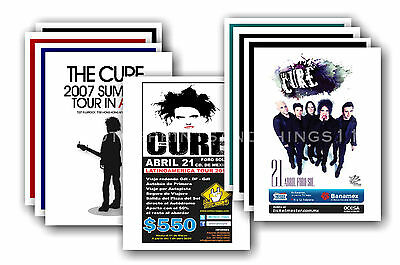 THE CURE  - 10 promotional posters - collectable postcard set # 3