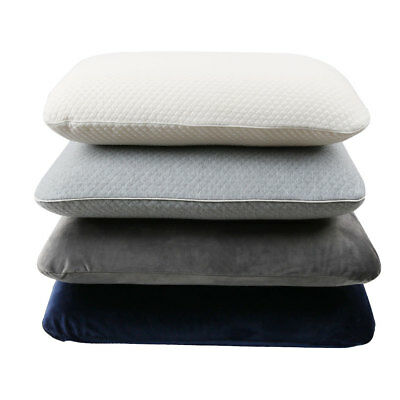 Deluxe High Density Ventilated Memory Foam Pillow Contour Cool Gel Home Hotel