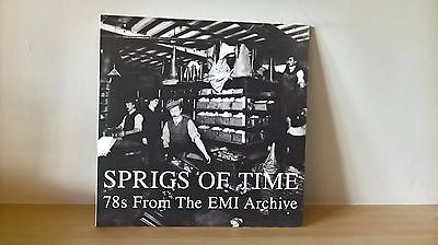 VARIOUS - SPRIGS OF TIME - 78s FROM THE EMI ARCHIVE (HJRLP36) DOUBLE LP 2008 EX
