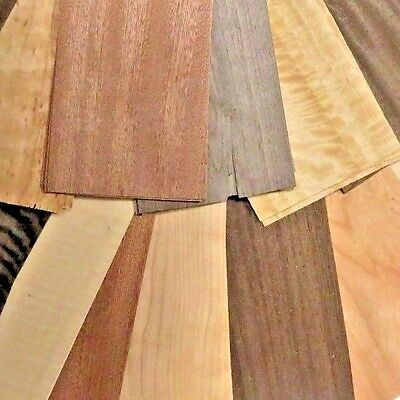Wood Veneer Assortment 60 + pieces