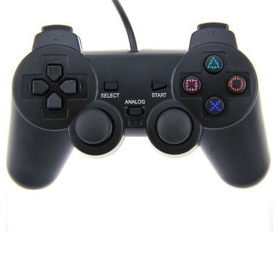 Controller Gamepad wired Joypad mit Dual Vibration für Sony PS2 Playstation 2