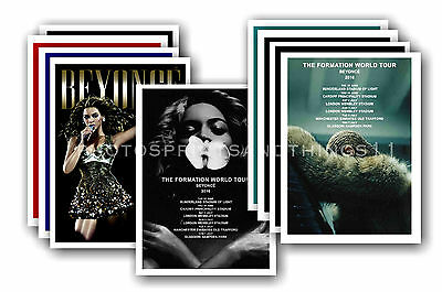 BEYONCE  - 10 promotional posters - collectable postcard set # 1