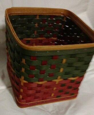 Longaberger Hearth Large Gift Basket Complete Set with Protector MINT FREE SHIP!