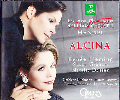 handel alcina fleming dessay Код cd : era 8573-80233-2 this recording of handel's alcina is hard to beat fleming, graham, and dessay were essaying baroque opera for the first time.