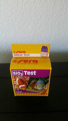 Sera SiO3 Test - Silikat-Test 3x 15ml - Wassertest Aquarium