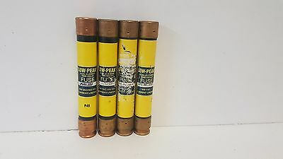 Lot Of (4) New Old Stock! Bussmann 30A Dual Element Fuses Lps-Rk-30Sp