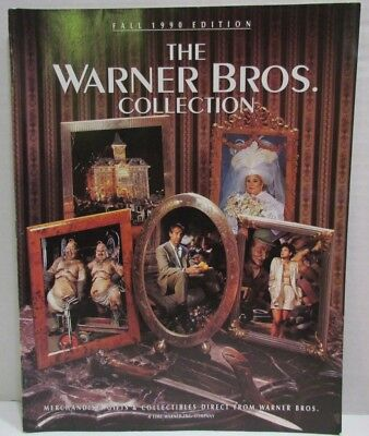 Warner Brothers Collection Catalog Fall 1990 with WB stars as models