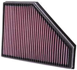 K&N AIR FILTER FOR BMW 320d E90/E91/E92/E93 177/184 PS 03/2007 - 2013