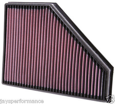 163BHP, to 8//07 E-2653 K/&N AIR FILTER fits BMW 320D 2.0 Diesel 2007