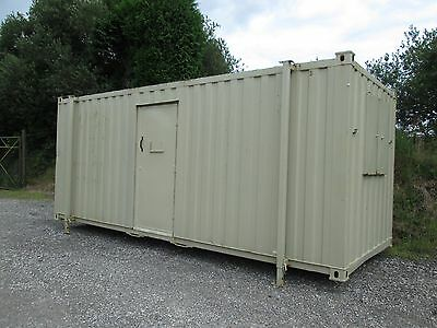 20ft Drying Room, Site Office, Site Cabin, Portable Building, Shipping Container