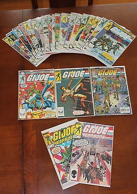 G.I. Joe A Real American Hero 1-155 Complete Full Set NM or better. 1st printing