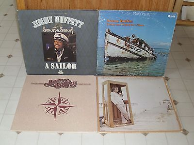 Jimmy Buffett Coconut Telegraph Usa 1st Pressing Nm Lp