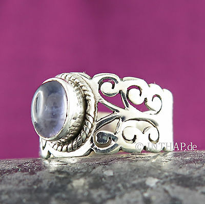 Ring 925 Sterling Silber - Silberring mit Iolith Damenring Fingerring Iolithring