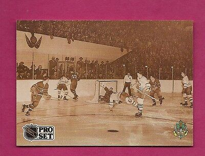 1991-92 Proset #340 Leafs Bill Barilko The End Of The Innocence French (Inv#5340