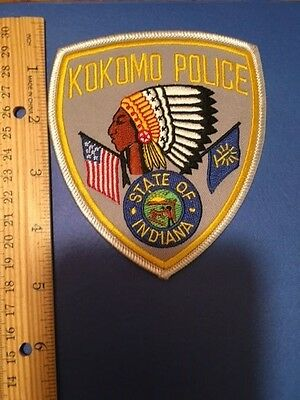 Kokomo Indiana Police  Shoulder Patch