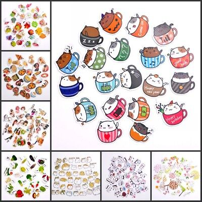 Cute Lovely Cartoon Decorative Stickers Adhesive Stickers DIY Decorative Sticker
