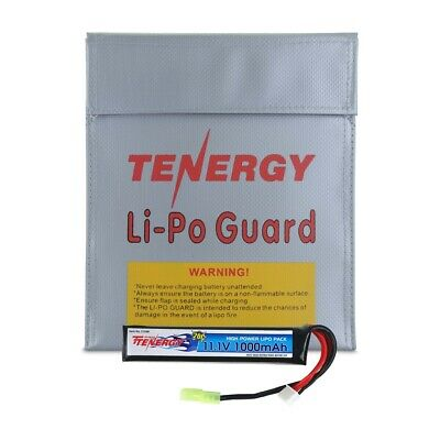 Tenergy 11.1V 1000mAh Li-Po Airsoft Stick Battery Pack for Airsoft & Hobby Toys