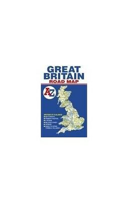 Great Britain Road Map by Geographers' A-Z Map Company Sheet map, folded Book
