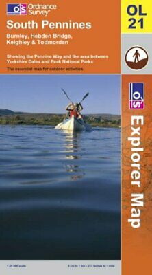 South Pennines (Explorer Maps) by Ordnance Survey Sheet map, folded Book The