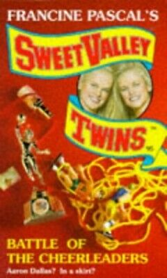Battle of the Cheerleaders (Sweet Valley Twins) by Suzanne, Jamie Paperback The