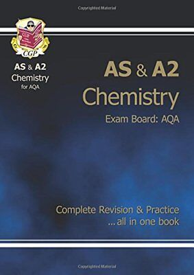 AS/A2 Level Chemistry AQA Complete Revision & Practice... by CGP Books Paperback