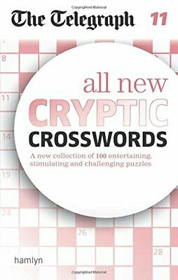The Telegraph: All New Cryptic Crosswords 11 (The Tel... by THE TELEGRAPH MEDIA