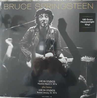 Bruce Springsteen - Live In Studios Houston March 9, 1974 Vinyl Lp
