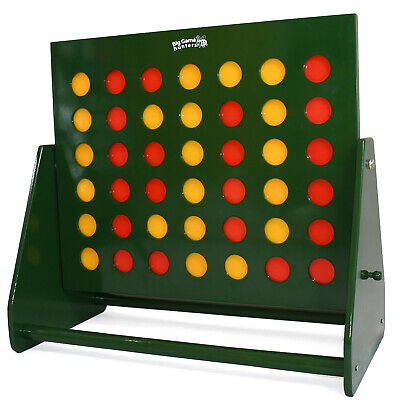 Garden Games Maxi Connect 4 in a row Giant Wooden Outdoor