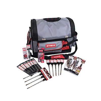 Armeg Drill Bits - 20pc Premium Drilling Kit - With Tool Bag