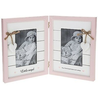 Provence Baby Double Photo Frame Girl
