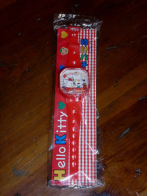 Vintage 1976-1994 Sanrio Hello Kitty Plastic Game Watch New In Package