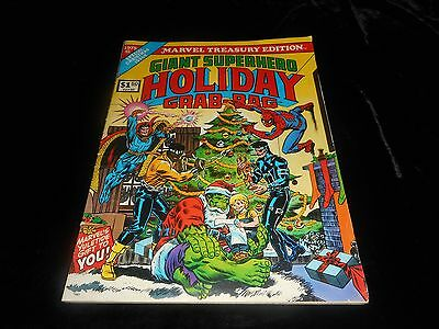 1975 Marvel Treasury Edition Giant Superhero Holiday Grab
