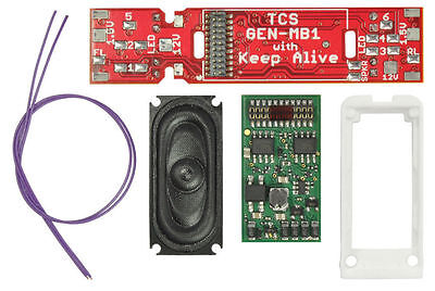 TCS WDK-ATH-6 WOW DCC Sound Conversion Kit for Athearn HO Scale Locomotive 1767